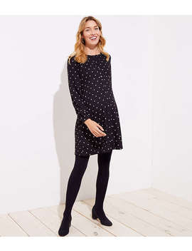 Maternity Fleece Lined Tights by Loft