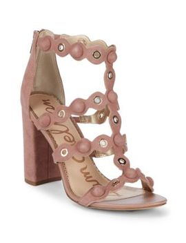 Yuli Suede Strappy Sandals by Sam Edelman