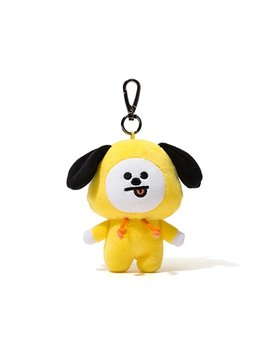 Bt21 Chimmy Pluch Keyring One Size Yellow by Bt21