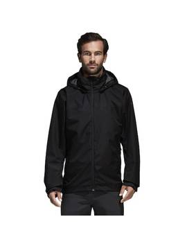 Men's Adidas Wandertag Climaproof Hooded Rain Jacket by Kohl's