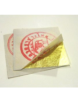 Gold Leaf 20 Sheets Edible 24k 999/1000 Gilding by Cool Price