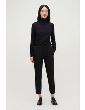 Stretch Wool Tailored Trousers by Cos