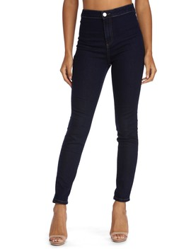 High Waist Skinny Jeans by Windsor