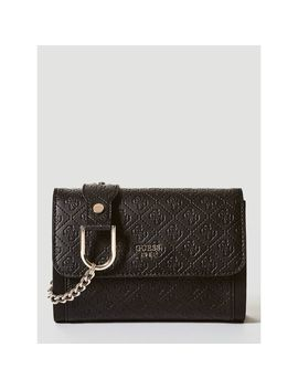 Coast To Coast Mini Flapover Cross Body Bag by Guess