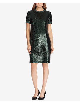 Sequin T Shirt Dress by Lauren Ralph Lauren