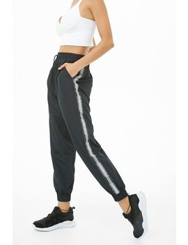 Active Femme Graphic Windbreaker Joggers by Forever 21
