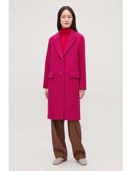 Coat With Oversized Lapels by Cos