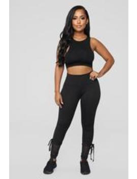 Nice Form Active Legging   Black by Fashion Nova