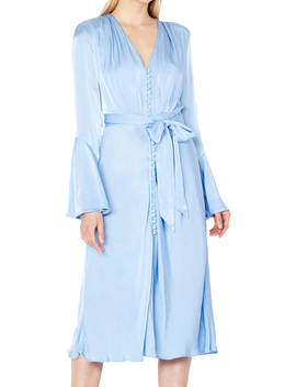 Ghost Annabelle Satin Dress, Pale Blue by Ghost