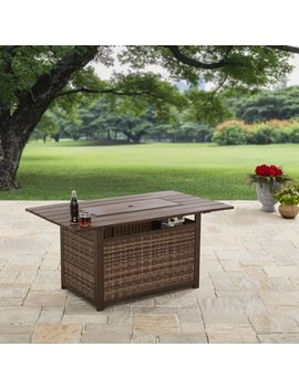 "Better Homes And Gardens 54"" Rectangle Fire Pit   Gas by Better Homes & Gardens"