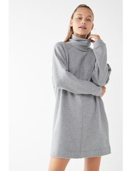 Uo Bunny Turtleneck Sweatshirt Dress by Urban Outfitters