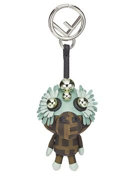 Women's Brown Space Monkey Bag Charm by Fendi
