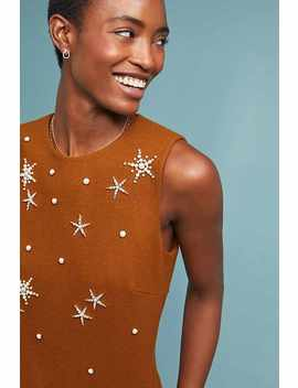 Starry Shift Dress by Mignon Doo