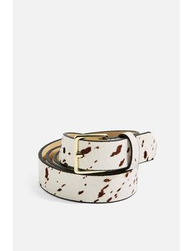 Cow Belt by Topshop