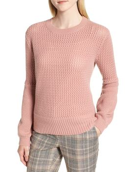 Multistitch Cashmere Sweater by Nordstrom Signature