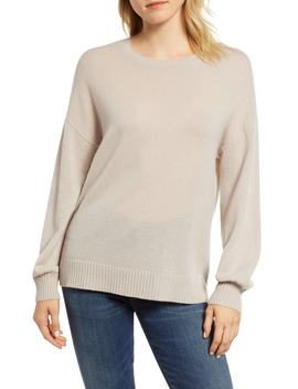 Blouson Sleeve Cashmere Sweater by Velvet By Graham & Spencer