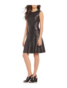 Luxury Collection Erika Genuine Leather Dress by Antonio Melani