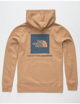 The North Face Red Box Khaki Mens Hoodie by The North Face