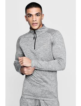Active Man Track Gym Top by Boohoo