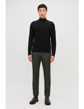 Cashmere Mock Neck Jumper by Cos