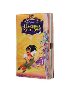 The Hunchback Of Notre Dame ''vhs Case'' Clutch Bag   Oh My Disney by Disney