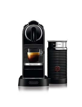 Nespresso® By Delonghi Citi Z Espresso Maker Bundle With&Nbsp;Aeroccino Frother In Black by Bed Bath And Beyond