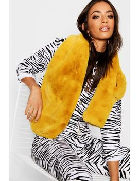 Soft Faux Fur Scarf by Boohoo