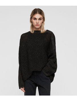 Marcel Metallic Sweater by Allsaints