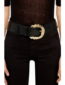 Ornate Buckle Belt by Topshop