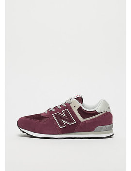 Gc574 Gb Burgundy by New Balance