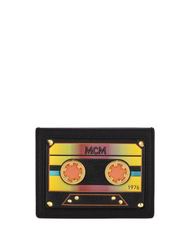 Cassette Tape Mini Card Case by Mcm