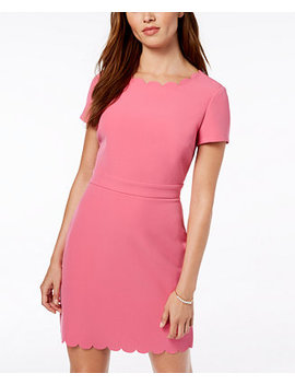 Scalloped Sheath Dress, Created For Macy's by Maison Jules