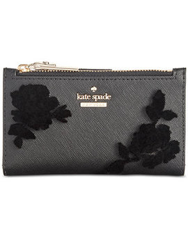 Cameron Street Flock Roses Mikey Wallet by Kate Spade New York