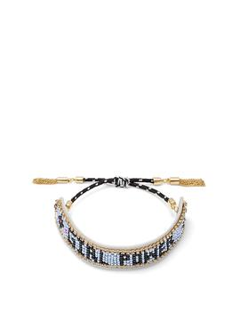 """Girl Power"" Seed Bead Friendship Bracelet by Rebecca Minkoff"