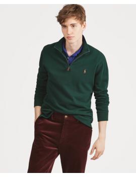 Estate Rib Cotton Pullover by Ralph Lauren