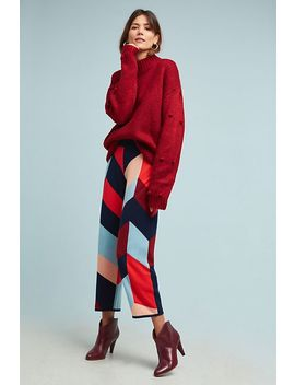 colorblocked-sweater-pants by chinti-&-parker