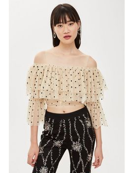 **Perch Top By Lace & Beads by Topshop