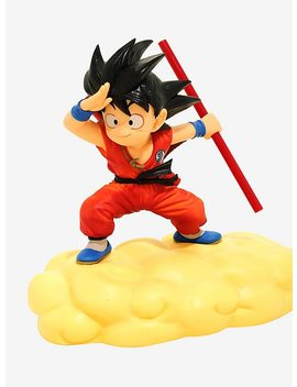 Dragon Ball Z Kintoun Son Goku Orange Figure by Hot Topic
