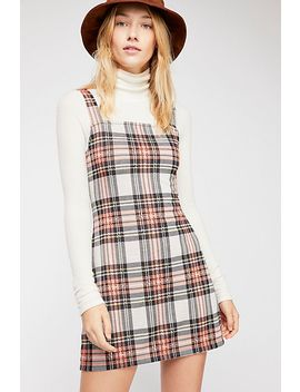 Taylor Check Mini Dress by Free People