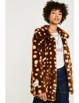 Jakke Tammy Bambi Faux Fur Jacket by Jakke