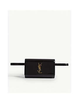 kate-patent-leather-bum-bag by saint-laurent