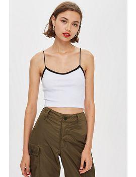 Plain Cami Top by Topshop