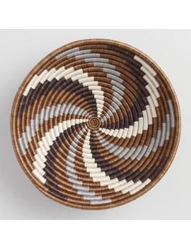 Brown And Gray Rwandan Basket by World Market