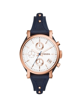 Ladies Fossil Original Boyfriend Chronograph Cuff Watch Es3838 by Fossil