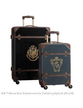 Harry Potter™ Hard Sided Hufflepuff™ Luggage Bundle, Set Of 2 by P Bteen