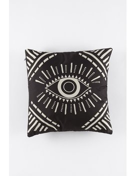 Eye Graphic Decorative Pillow by Urban Planet