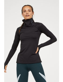 Turtleneck Running Top by H&M