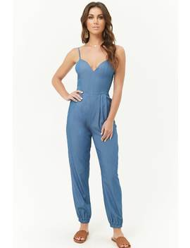Chambray Cami Jumpsuit by Forever 21