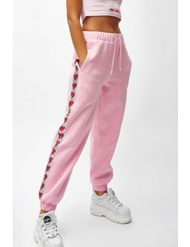 **Pink Joggers By Jaded London by Topshop