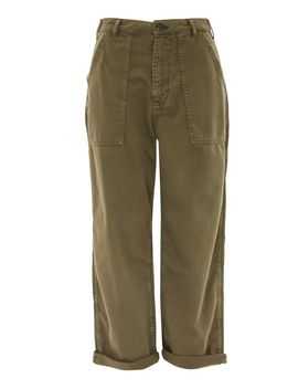 Wide Leg Utility Trousers by Topshop